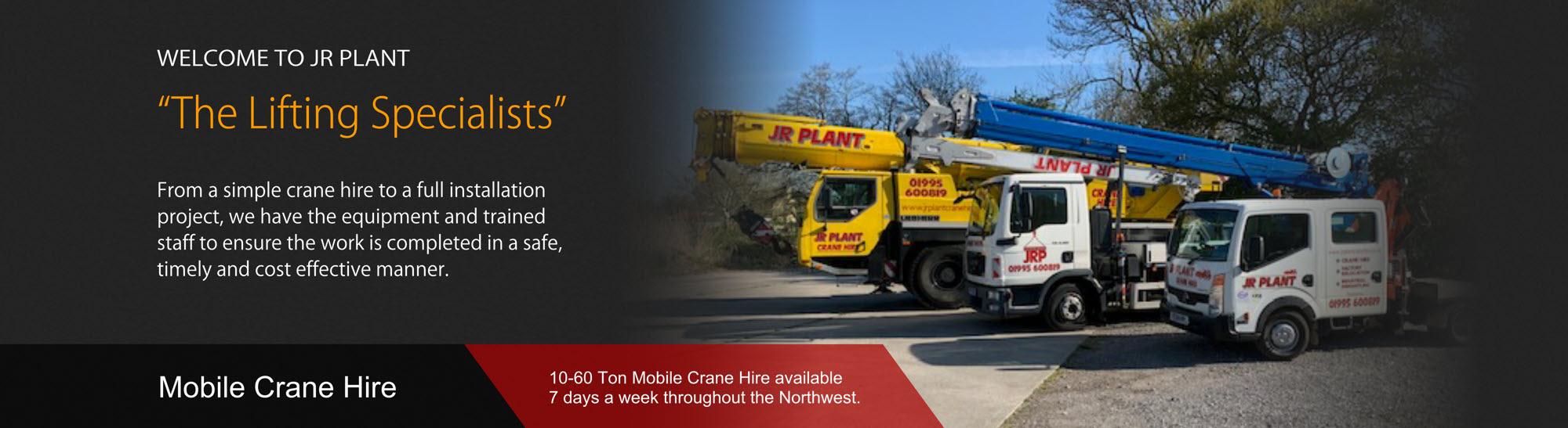 crane hire lancashire