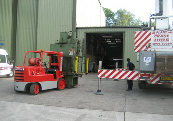 machinery removals north west